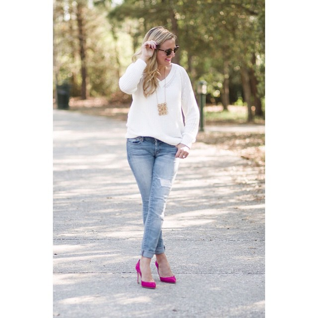 This week's Everyday Fancy post is featuring my favorite sweater…