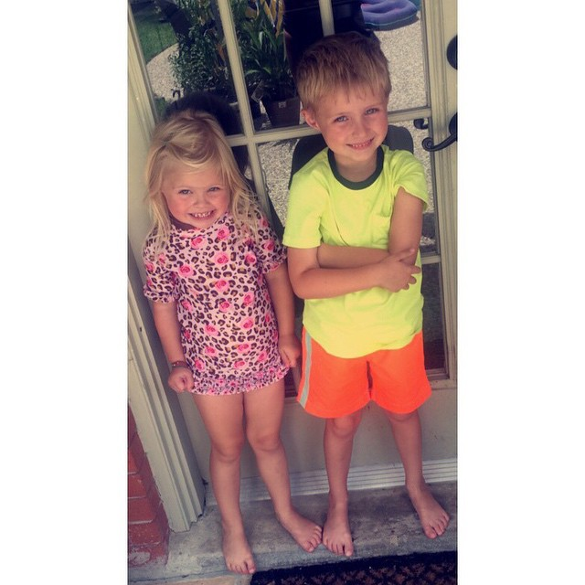 Swimming is their favorite! dailyfancyashley2015 littlepresidents