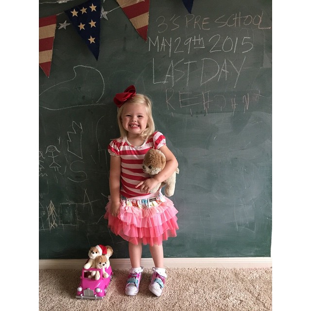 Last day of school for Miss Reagan! She had the…