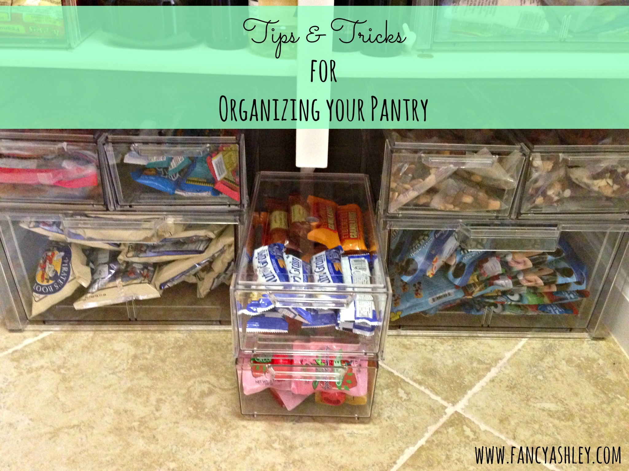 tips and tricks for organizing your pantry - Organized Pantry