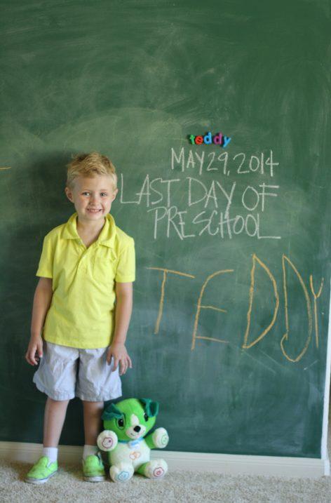 Teddylast day