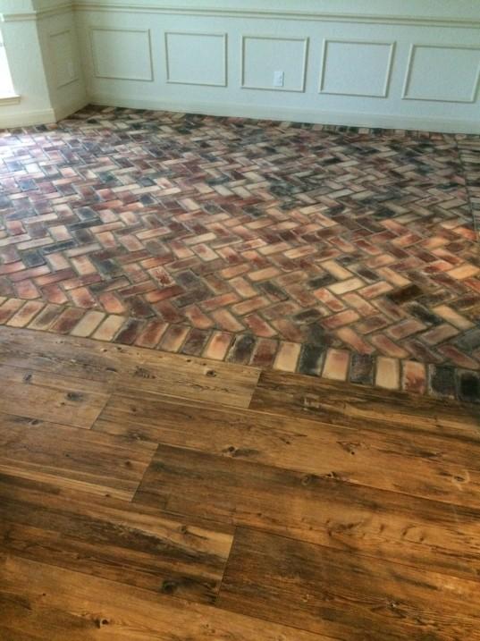 Flooring Tile Brick Look : Floor fiasco fancy ashley