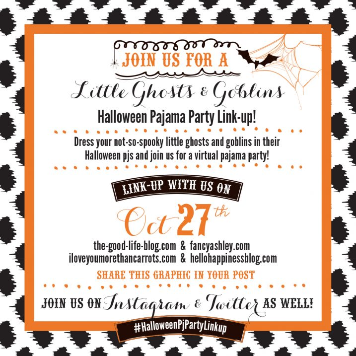 Halloween Pajama Party Linkup
