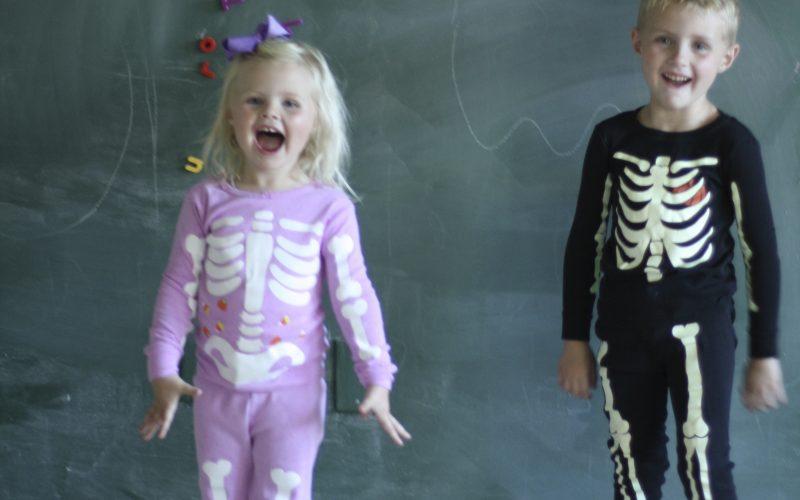 Halloween Pajama Party Link-Up