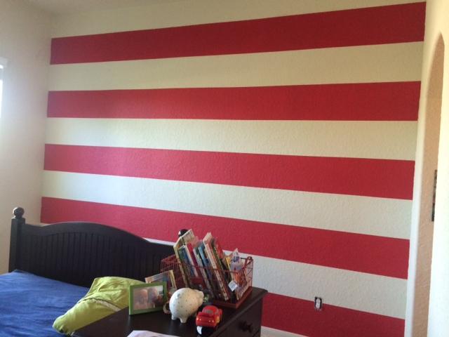 Wall Stripes // Fancy Ashley