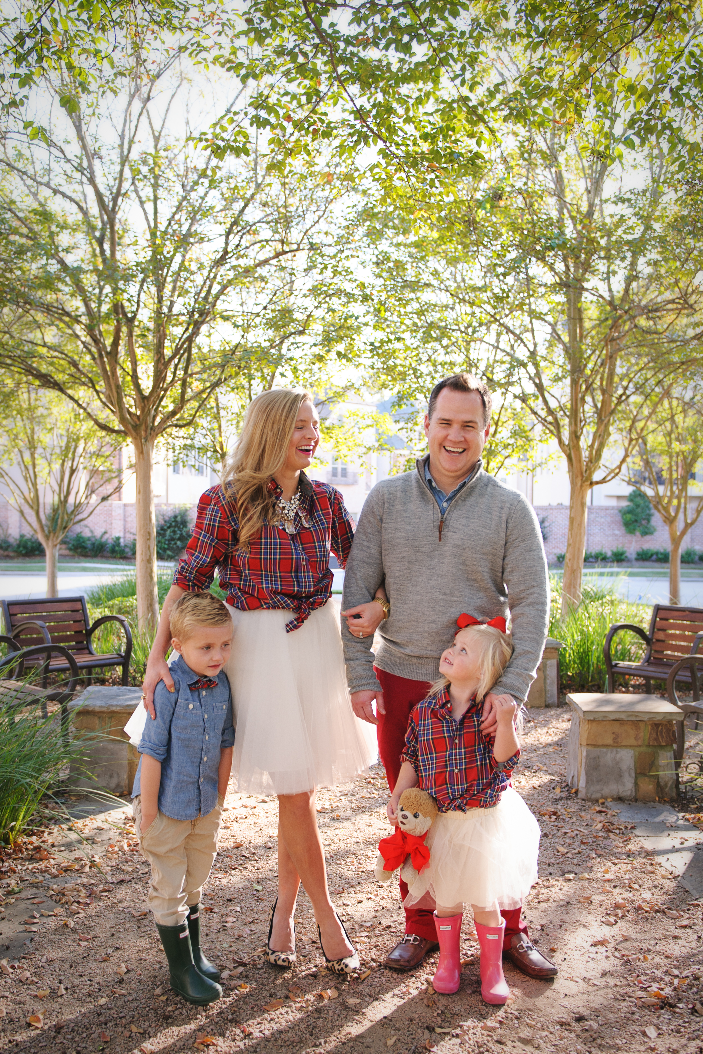 fun holiday family photo ideas featured by top Houston life and style blog, Fancy Ashley