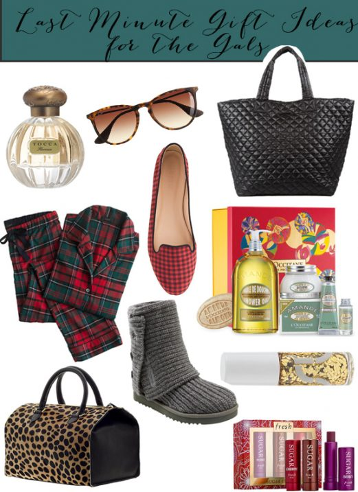 Last Minute Gift Ideas for Gals // Fancy Ashley