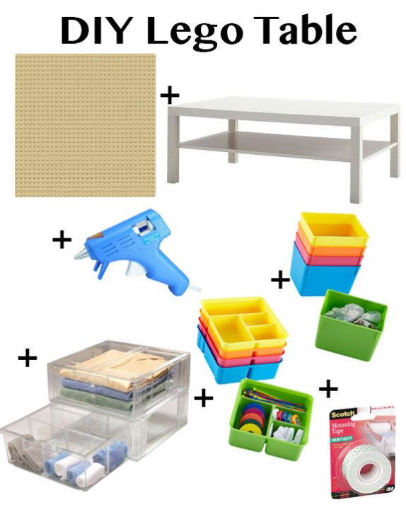 ikea hack diy lego table fancy ashley. Black Bedroom Furniture Sets. Home Design Ideas