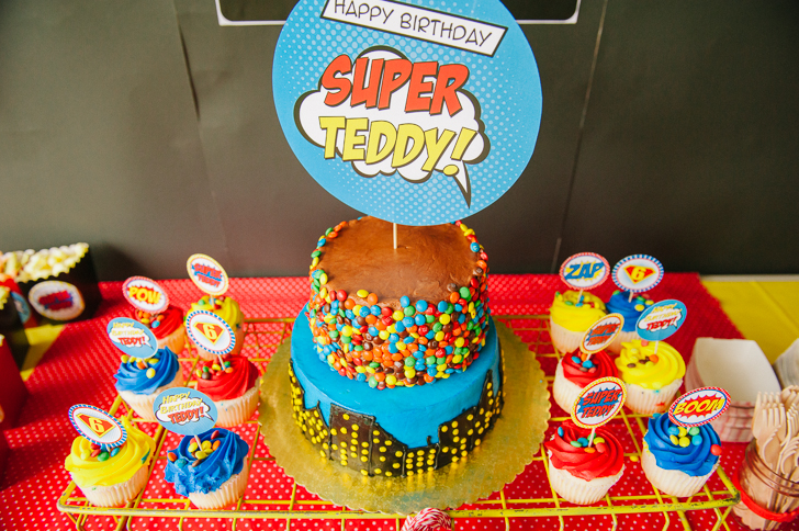 Teddy's 6th Super Hero Party Details