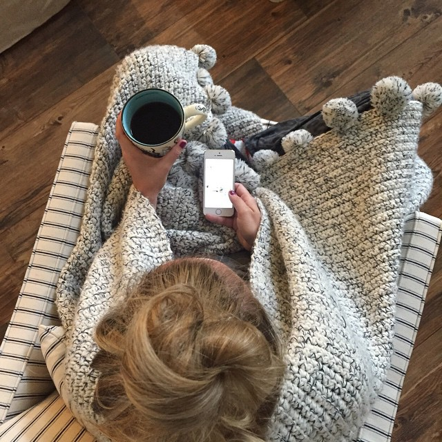 Saturday am ritual in my favorite chair with my favorite…