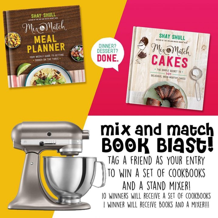 My sweet friend Shay came out with TWO amazing cookbooks!!hellip