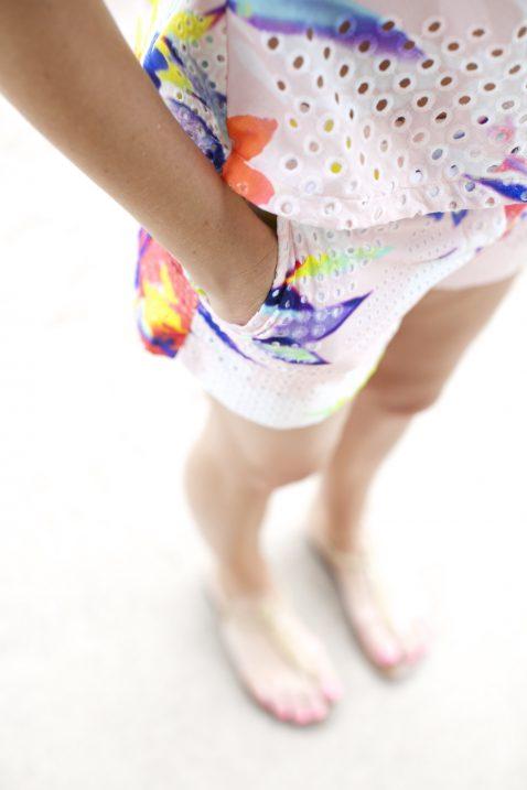 Trina Turk Shorts Set
