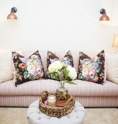 Home Tour Tuesday: TV Room // Fancy Ashley