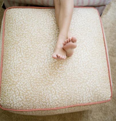 Loom Decor Floor Pouf