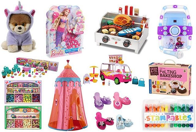A fun roundup of gifts for the little ladies ishellip