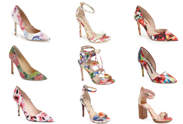 Something to Write Home About: Floral Shoes