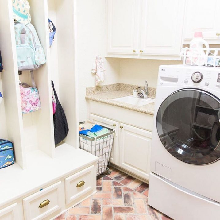 Giving a little peek into our laundry room over onhellip