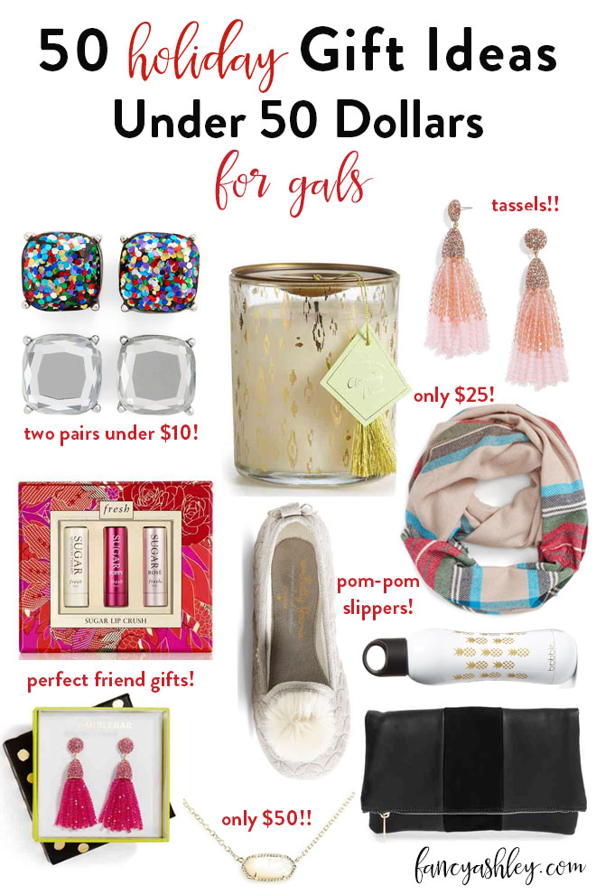 Fifty unique, fun and original gifts for women under $50