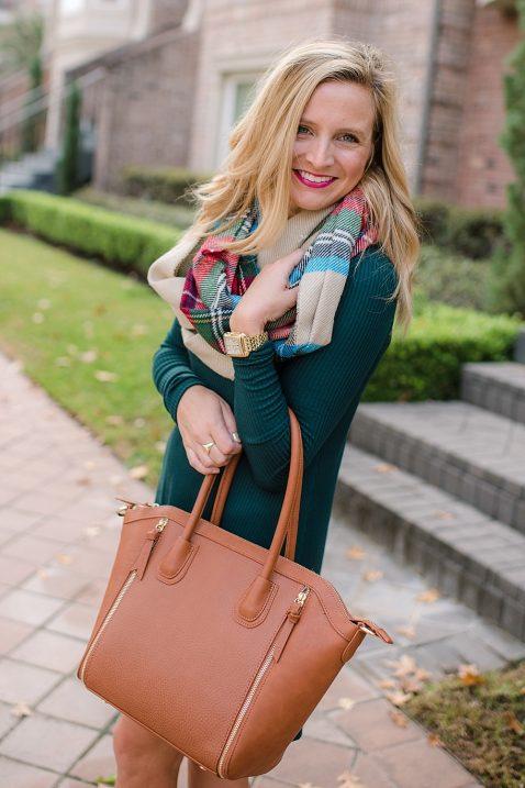 fancy-ashley-nordstrom-green-dress-brown-purse-bp-scarf-15