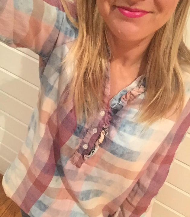 The cutest plaid top and lots of other awesome saleshellip
