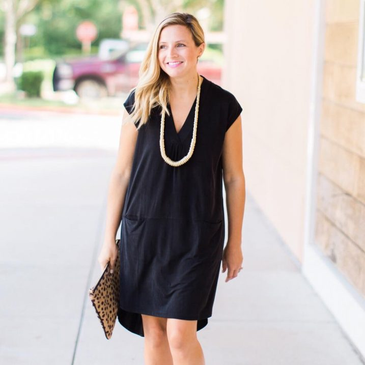 Favorite black dress ever is back and on sale! Suchhellip