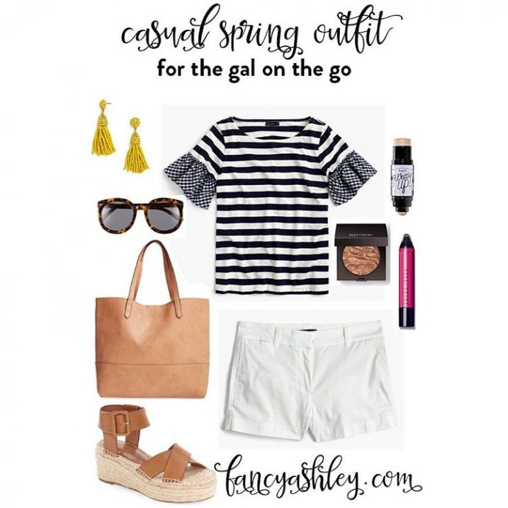 This cute and casual spring look is over on thehellip