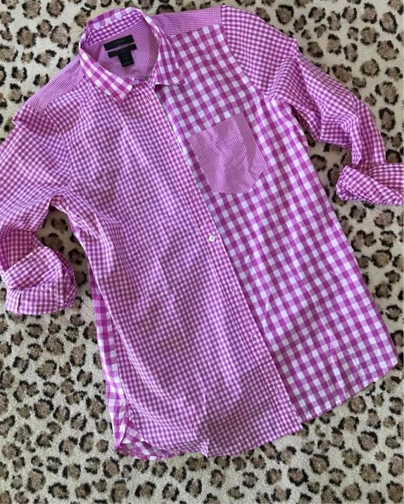 The cutest gingham top for spring and it also comeshellip