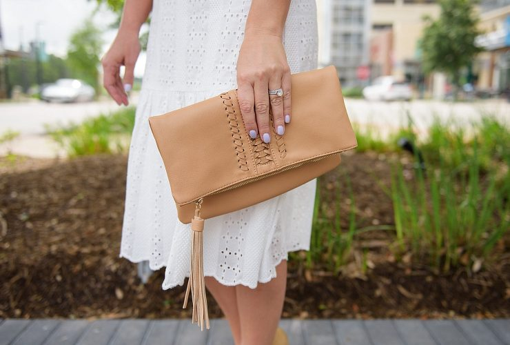 Eyelet Top and Skirt