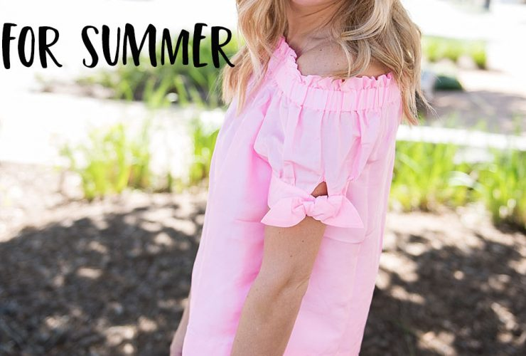 Tuesday Talk-70 Tops for Summer