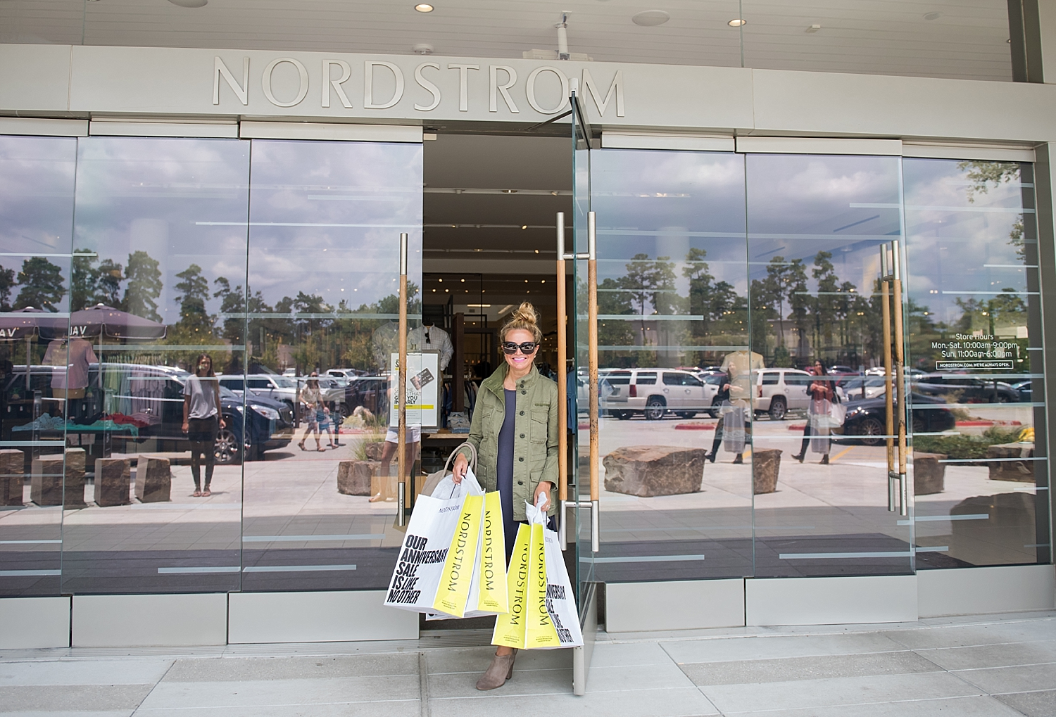 Everything you need to know about the Nordstrom Anniversary Sale featured by popular Houston fashion blogger, Fancy Ashley