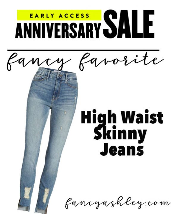 anniversary sale jeans - A Fantastic Nordstrom Anniversary Sale Giveaway featured by popular Houston fashion blogger, Fancy Ashley