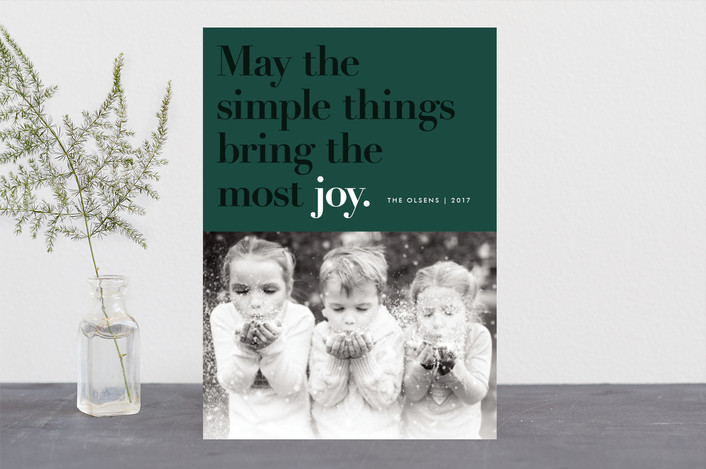 Holiday Card Ideas with Minted