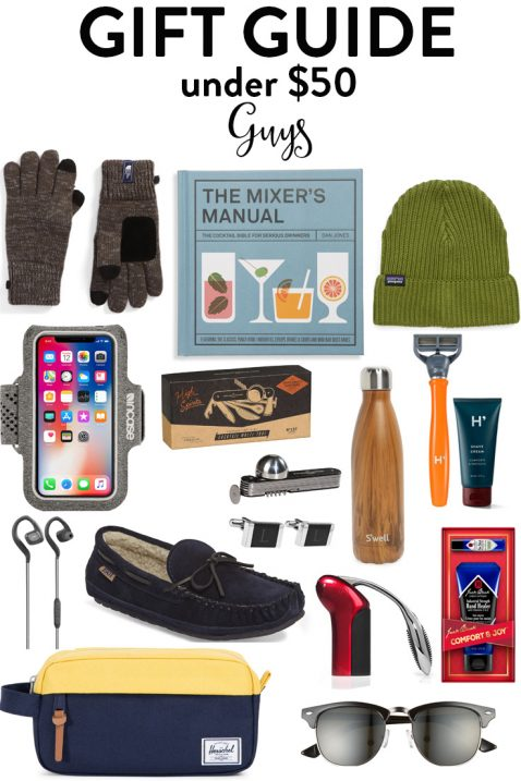 Mens christmas gifts under 50 dollars