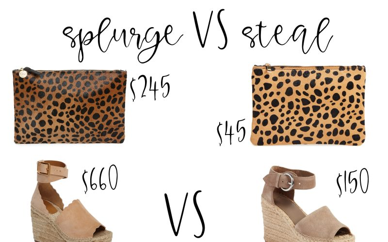 Splurge Vs Steal