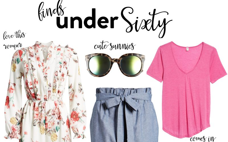 Finds under Sixty