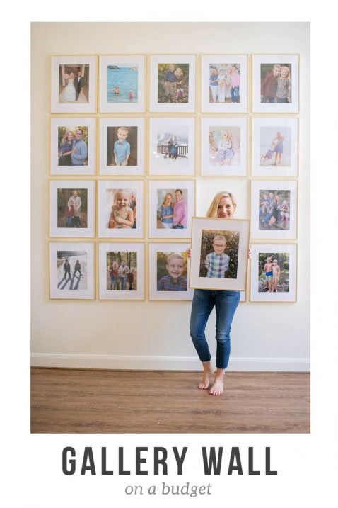 gallery wall under 600 - Affordable Gallery Wall Ideas featured by popular Houston lifestyle blogger, Fancy Ashley