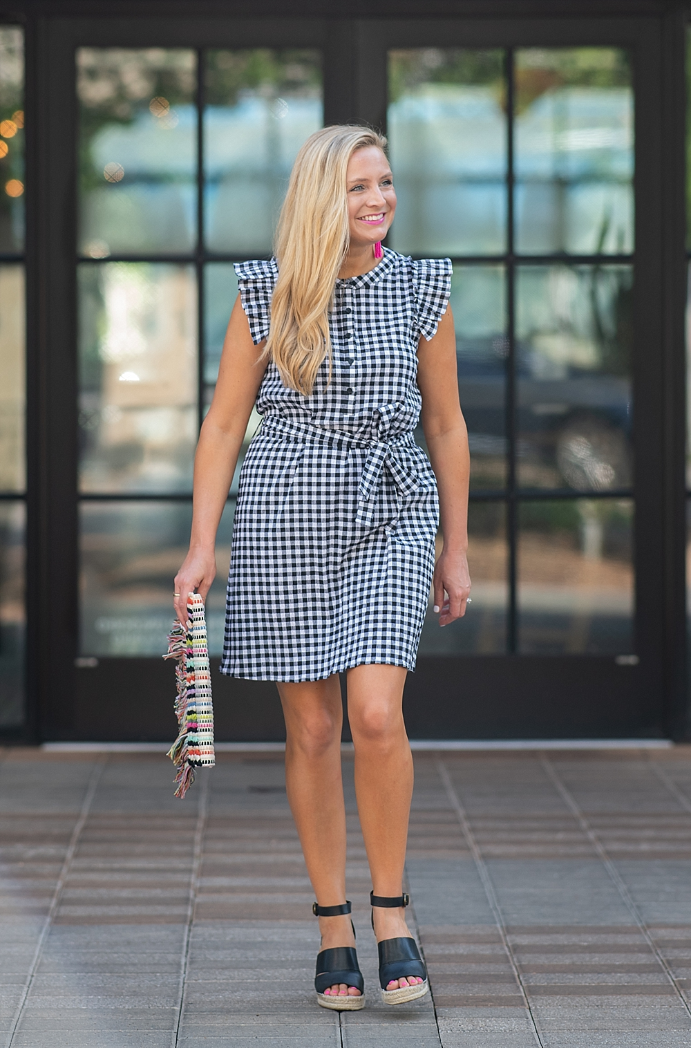 Super Cute Summer Dresses featured by popular Houston fashion blogger, Fancy Ashley