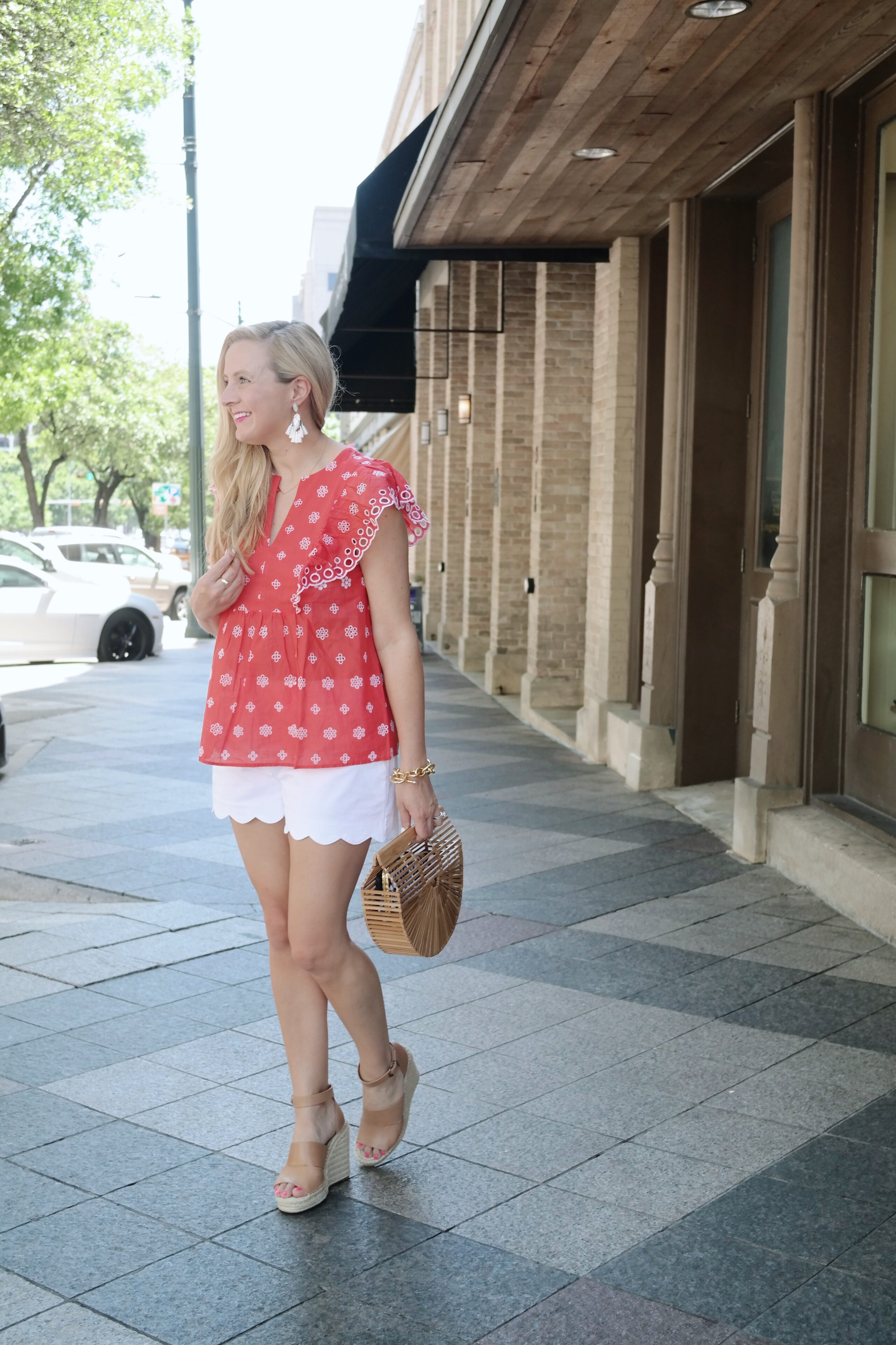 Nordstrom Summer Outfits styled by popular Houston fashion blogger, Fancy Ashley