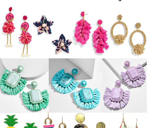 11 Pairs of Summer Statement Earrings You Must Have