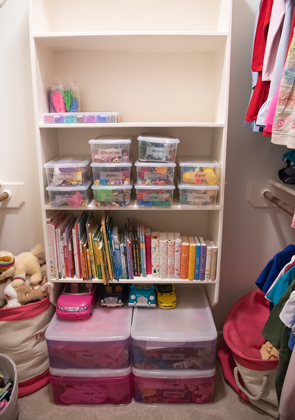 5 Super Helpful Closet Organization Tips for your Family featured by popular Houston lifestyle blogger, Fancy Ashley - AFTER