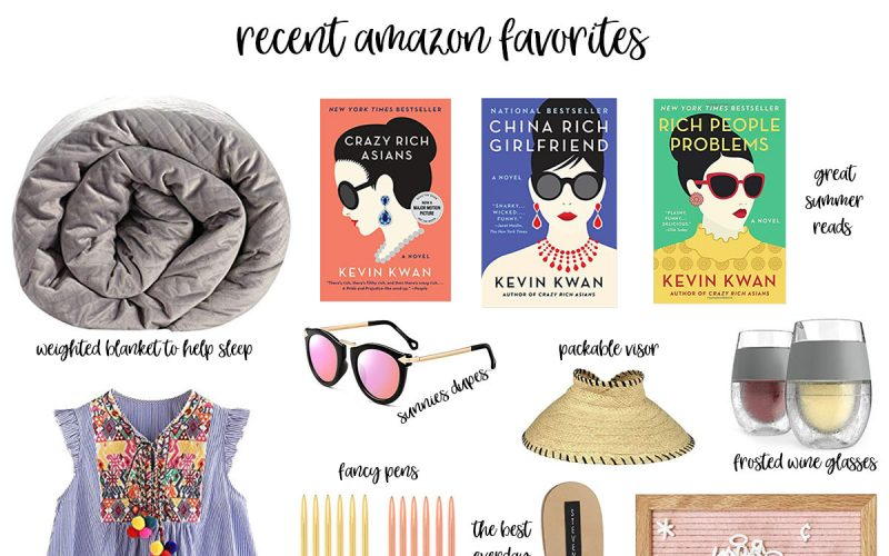 15 Recent Amazon Favorites