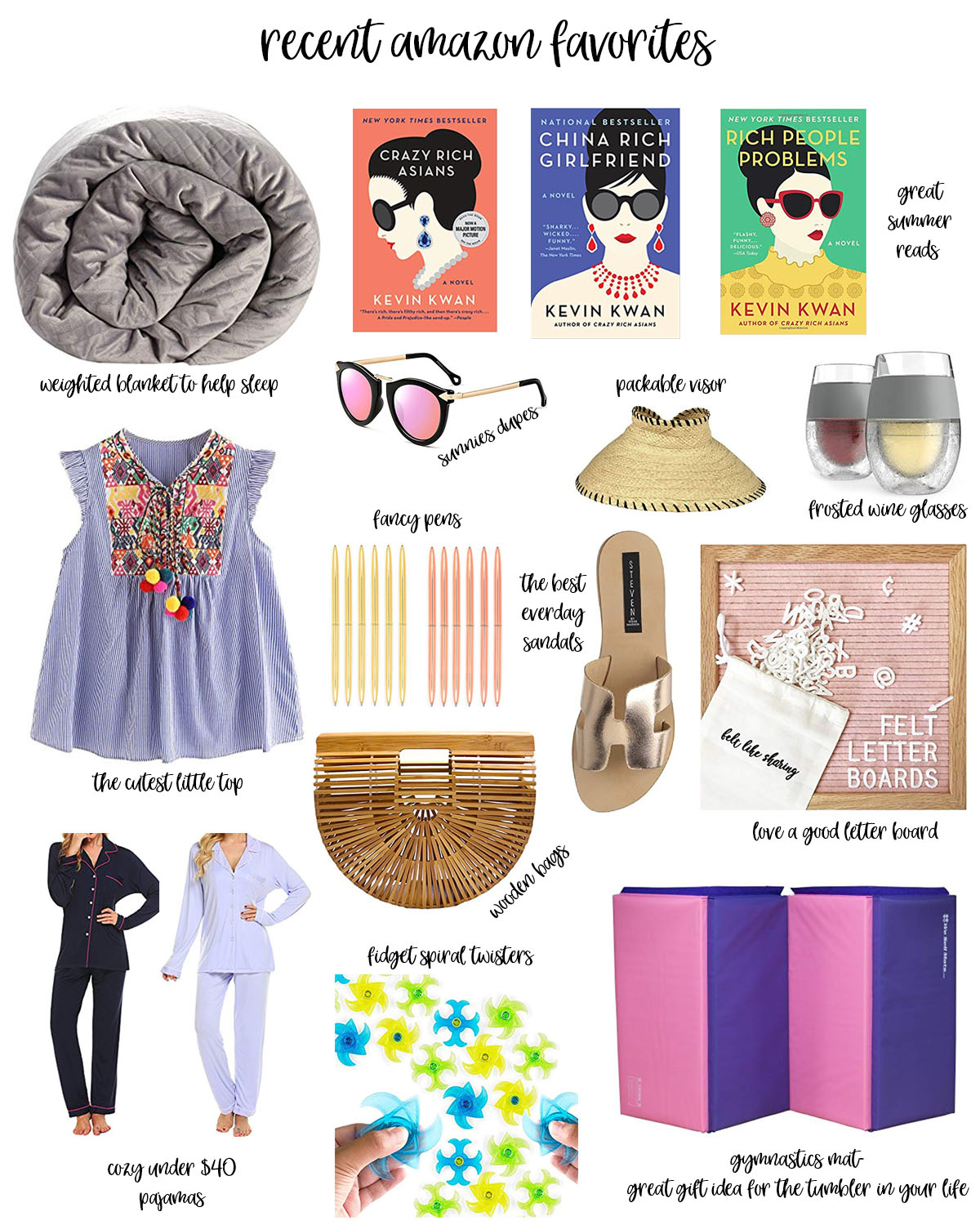 15 Recent Amazon Favorites featured by popular Houston life and style blogger, Fancy Ashley