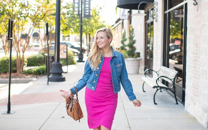 One Ruched Tank Dress, Two Ways