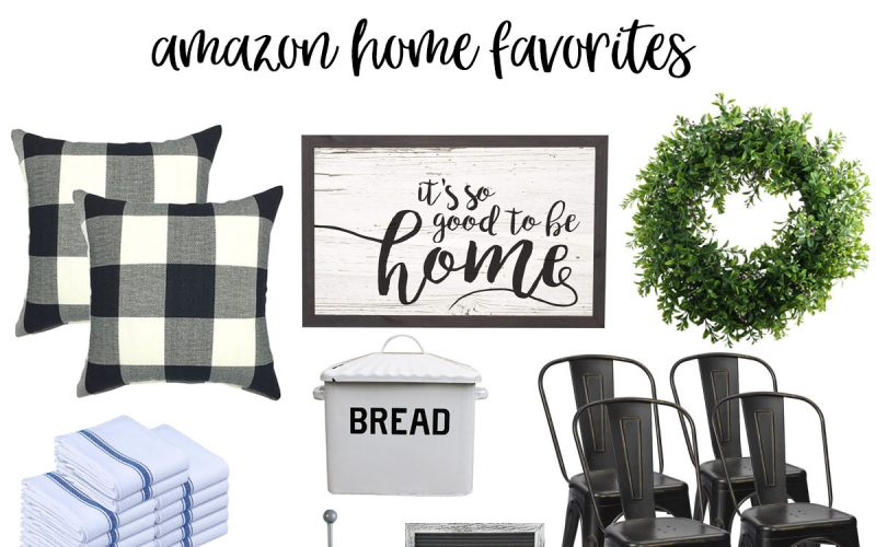 Amazon Home Decor Favorites