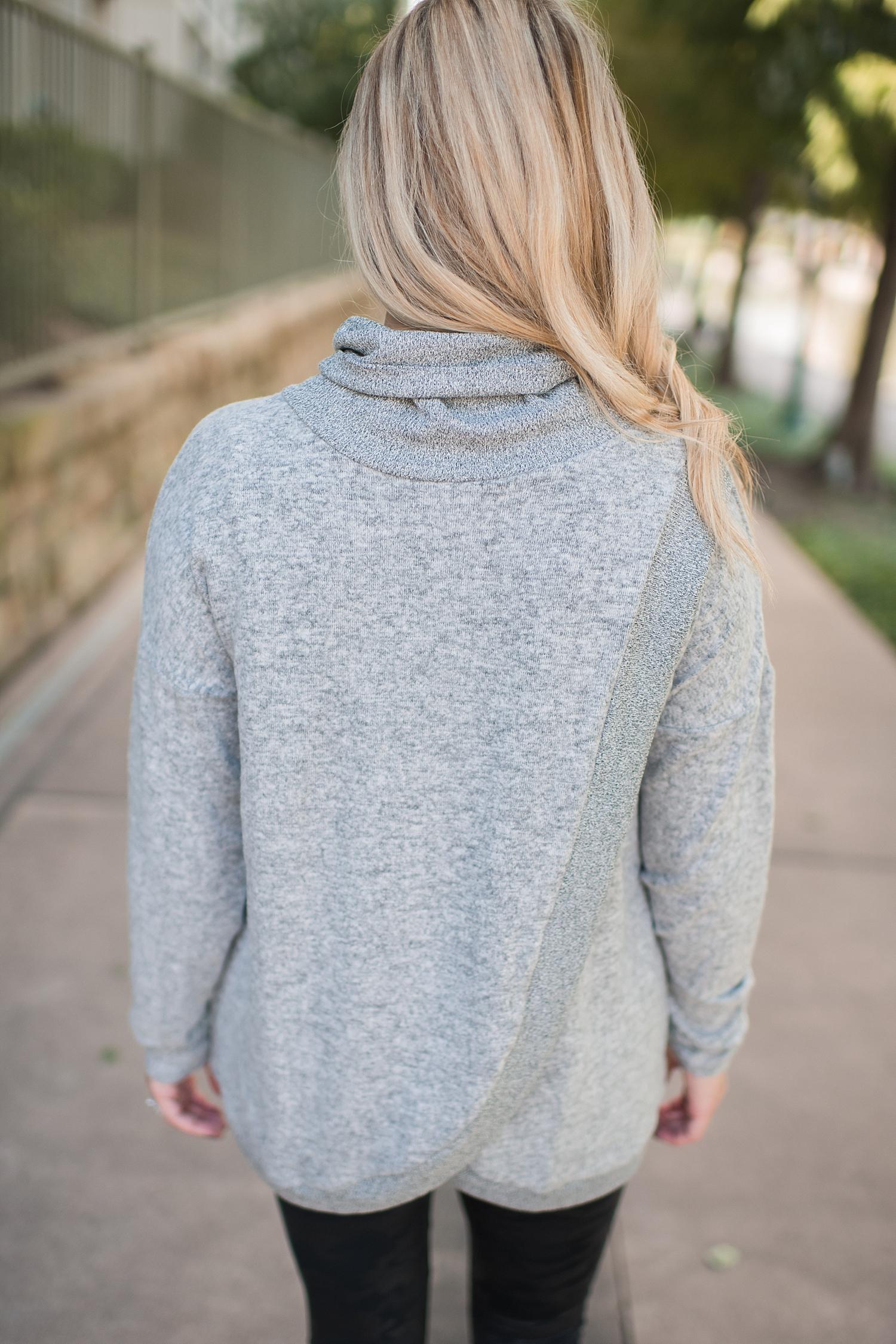 Nordstrom Turtleneck styled by top Houston fashion blog, Fancy Ashley