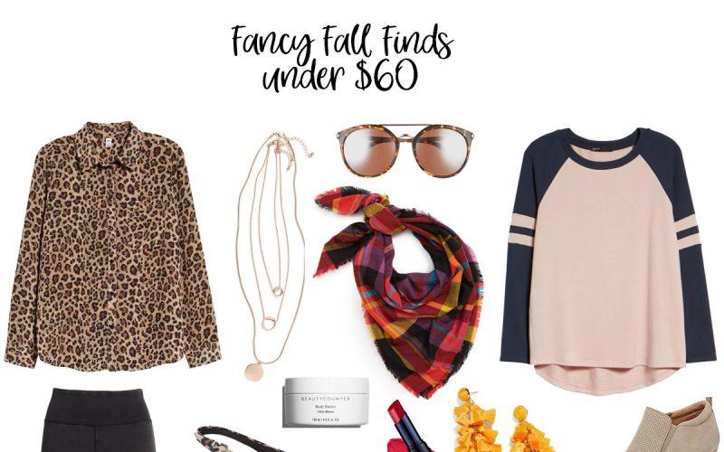 Fancy Fall Fashion Finds – Under $60