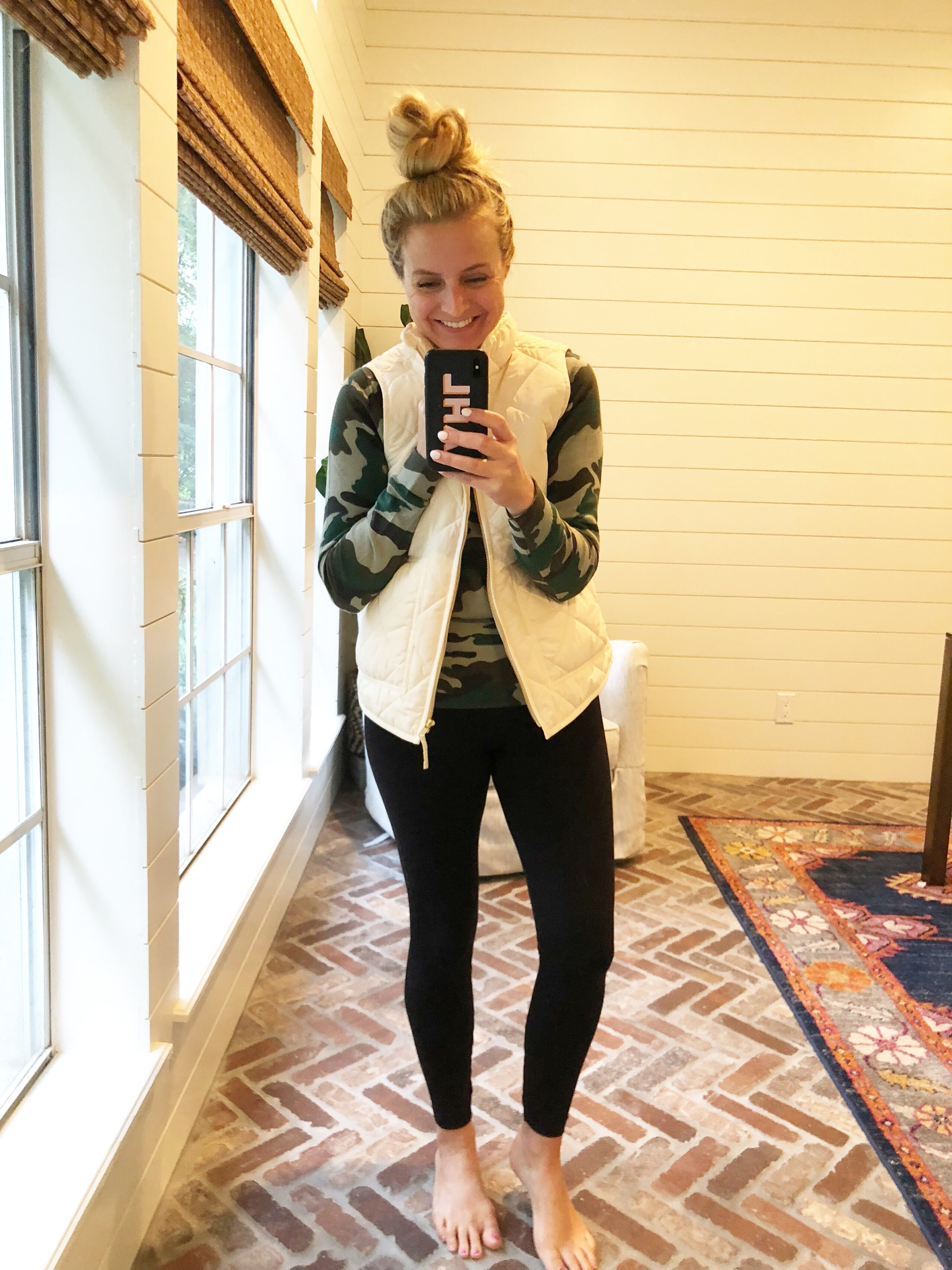 J Crew Favorites on Amazon, featured by popular Houston fashion blogger, Fancy Ashley: J Crew puffer vest