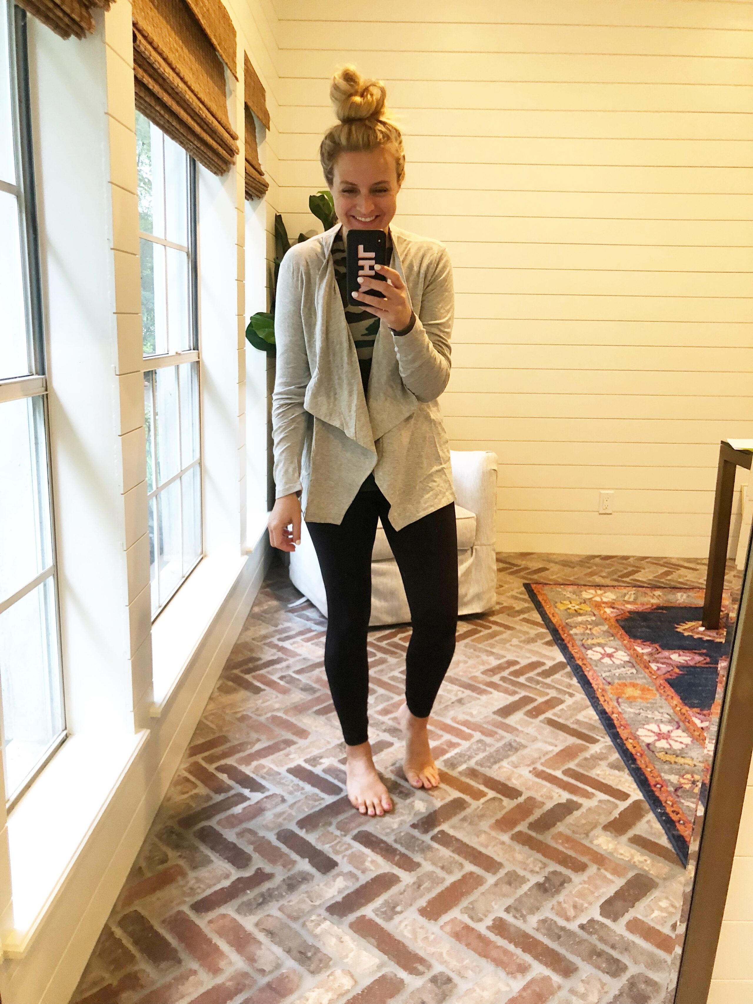 J Crew Favorites on Amazon, featured by popular Houston fashion blogger, Fancy Ashley: J Crew cascading cardigan