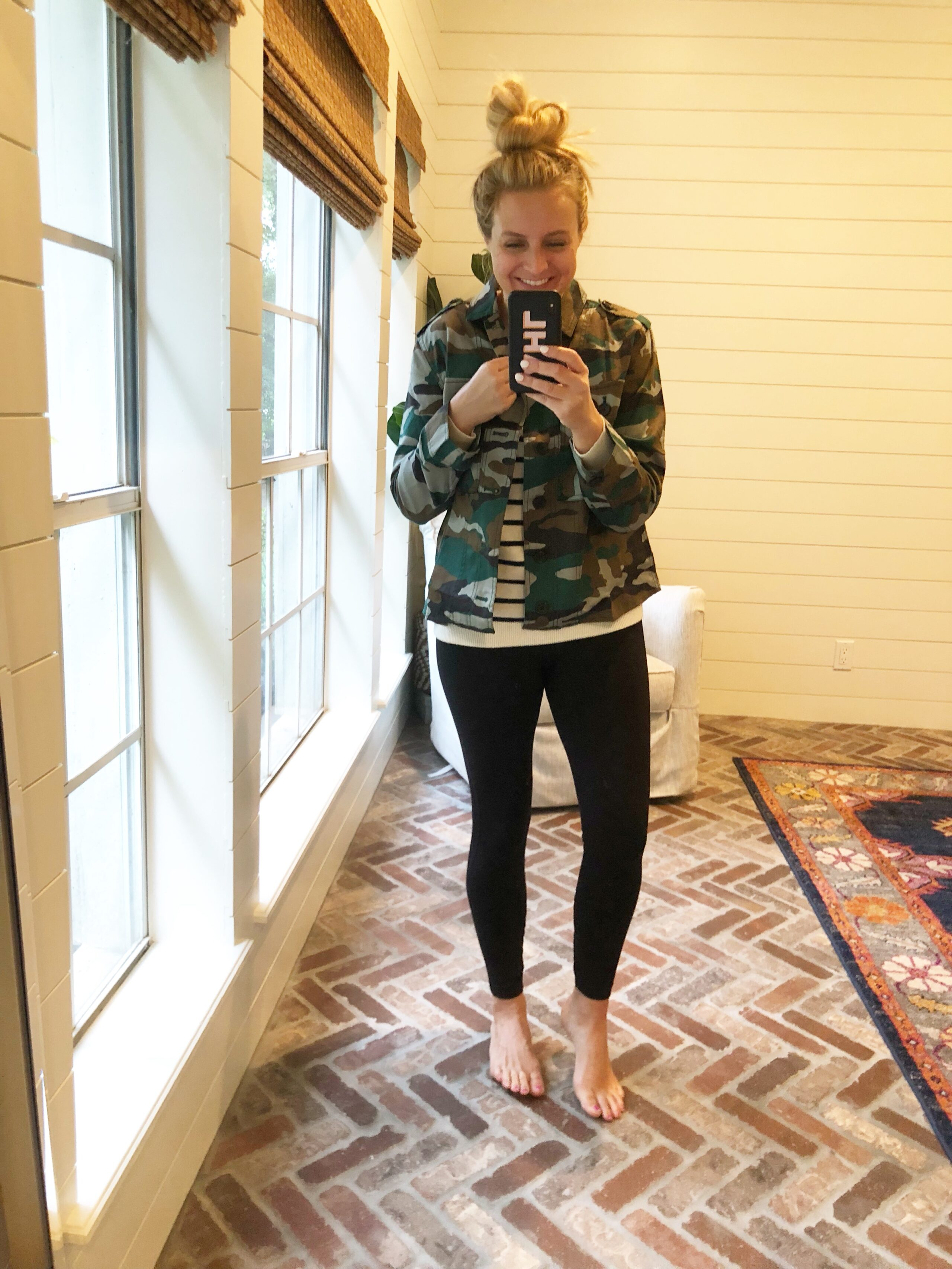 J Crew Favorites on Amazon, featured by popular Houston fashion blogger, Fancy Ashley: J Crew camo jacket