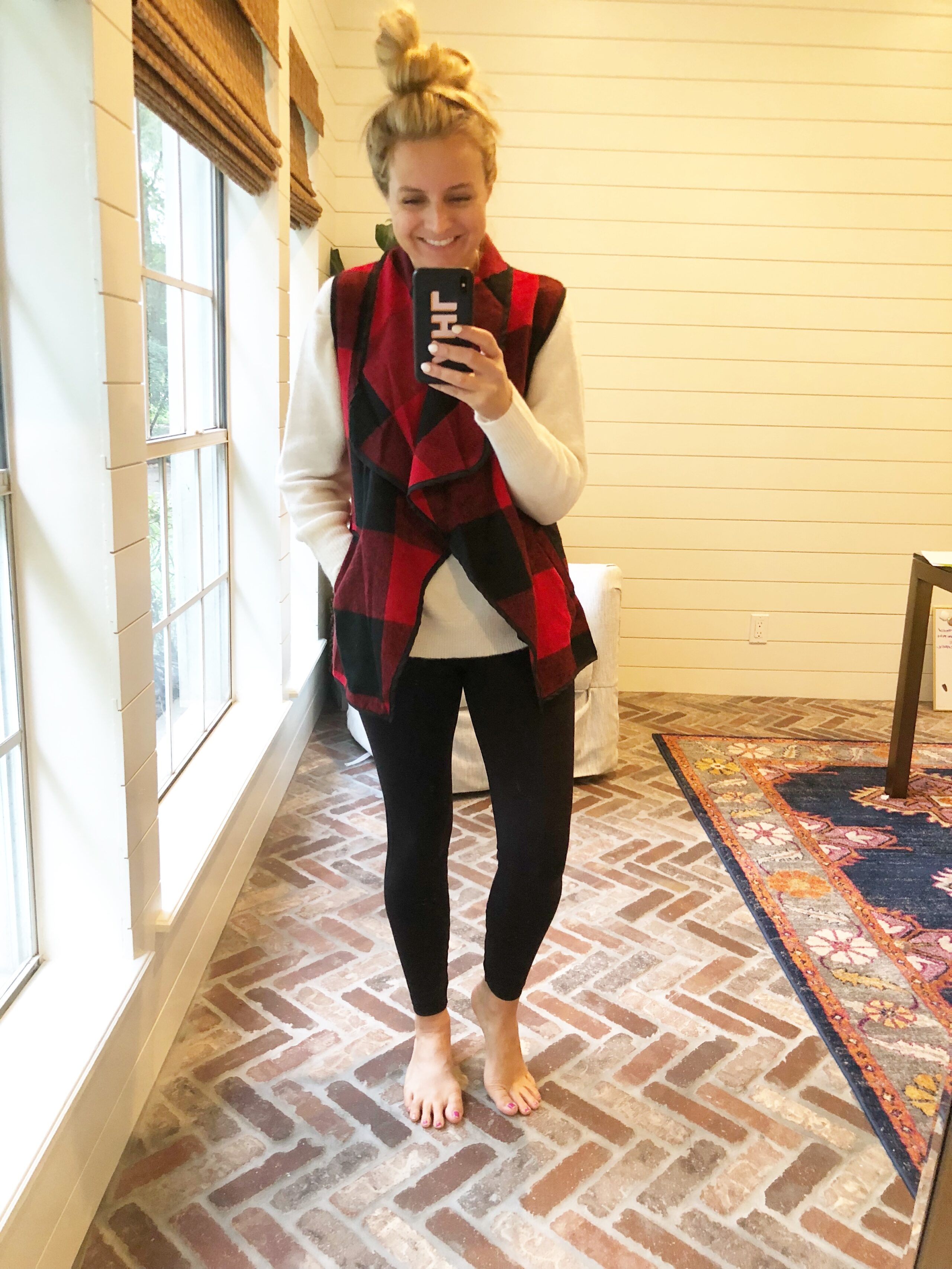Friday Favorites featured by popular life and style blogger, Fancy Ashley: Plaid Vest